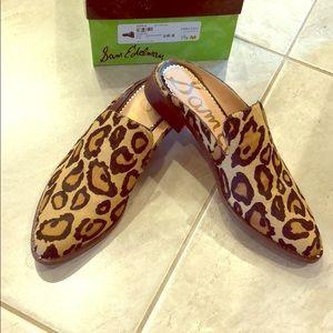 Sam Edelman Leopard Mules